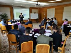 孙波副总裁为某机场集团分享《时代背景下的组织与人力资源管理创新》